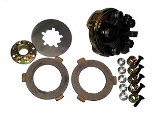 Clutch, HDC5-B - 2 Disc+Rebuild Kit (10,11 or 12 Tooth Sprocket)